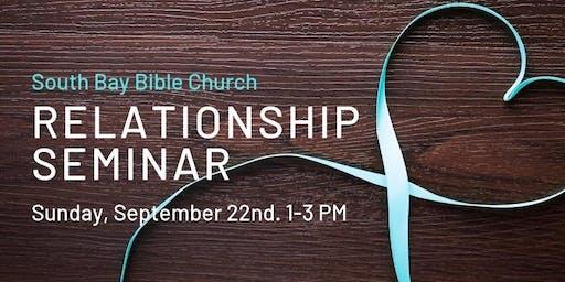 Relationship Enrichment Seminar