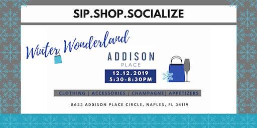 Sip.Shop. Socialize Winter Wonderland at Addison Place