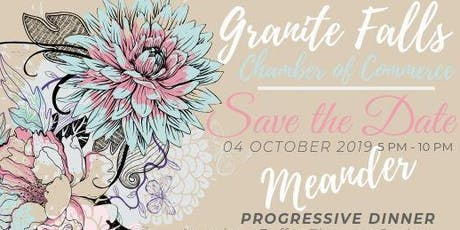 Meander Progressive Dinner tickets