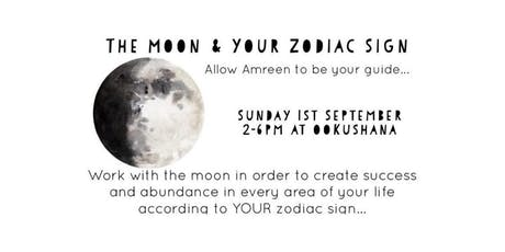 Moon & Your Zodiac Sign Workshop  tickets