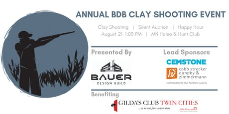 Annual BDB Sporting Clay Fundraiser benefiting Gilda's Club Twin Cities tickets