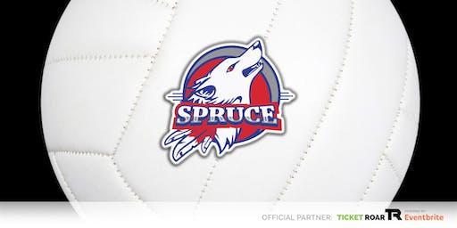 Spruce vs Seagoville JV/Varsity Volleyball