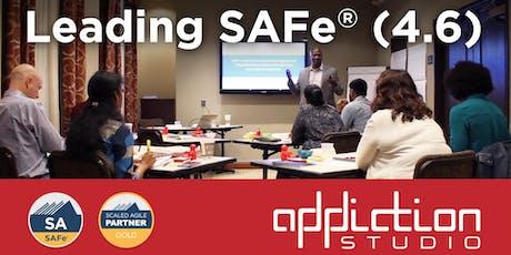 Leading SAFe (Scaled Agile Framework) 4.6 tickets