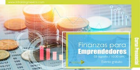 Finanzas para emprendedores tickets