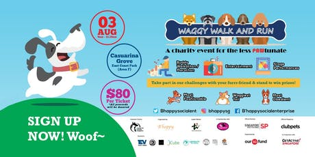 Waggy Walk & Run tickets