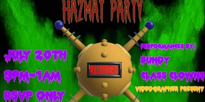 Late-BloomsDay Hazmat Party