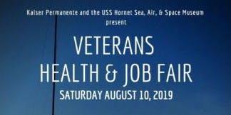 USS Hornet & Kaiser Permanente Veteran's Health & Job Fair