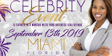 Celebrity Networking Event In Miami tickets