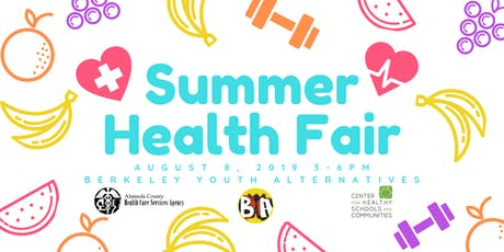 Berkeley Youth Alternatives Summer Health Fair tickets