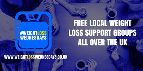 WEIGHT LOSS WEDNESDAYS! Free weekly support group in Colne tickets