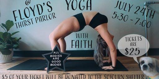 Yoga with Faith at Floyd's