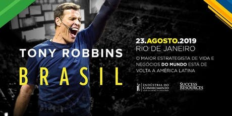 Tony Robbins Brasil 2019 ingressos