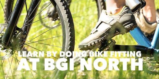 Learn by Doing Bike Fitting at BGI