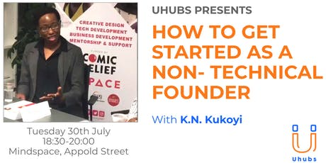 How to get started as a Non-Technical Founder tickets