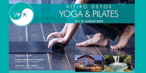 RITIRO DETOX YOGA+PILATES
