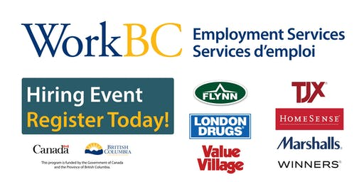 Surrey Cloverdale WorkBC  - Retail, Construction, Health Industry