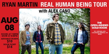 Ryan Martin the Real Human Being Tour with Alex Cano tickets