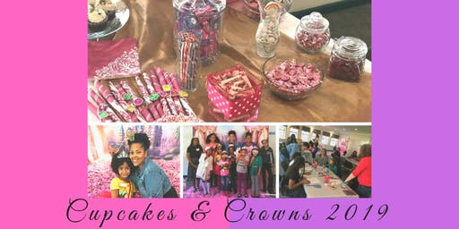 Cupcakes & Crowns Girls Workshop 2019
