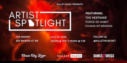 "Bullet Music's Artist Spotlight ""Sweaty Summer"" Metal Showcase"