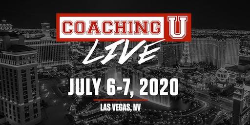 Coaching U LIVE 2020 Las Vegas VIP Experience: July 6-7