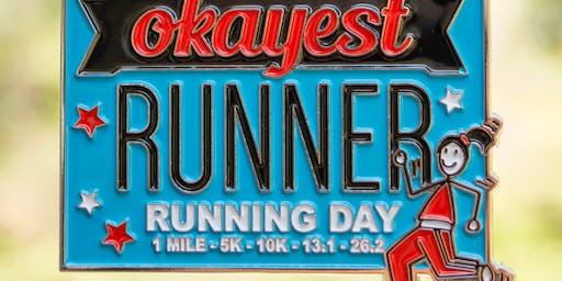 2019 The Running Day 1 M, 5K, 10K, 13.1, 26.2 - Raleigh