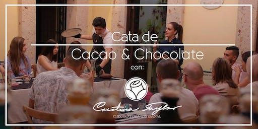 CATA DE CACAO Y CHOCOLATE CON LA CHEF CRISTINA TAYLOR