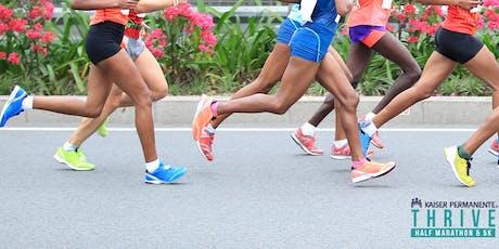 Thrive Half Marathon and 5K - VOLUNTEER tickets