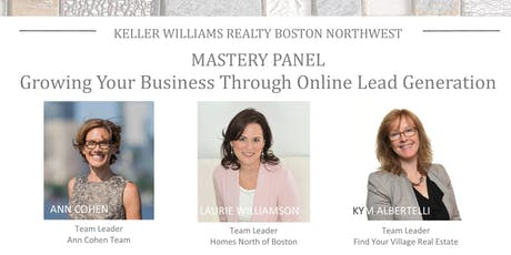 Monthly Mastery Panel: Growing Your Business Through Online Lead Generation tickets