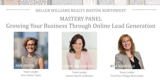 Monthly Mastery Panel: Growing Your Business Through Online Lead Generation