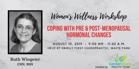 Coping with Pre & Post-Menopausal Hormonal Changes tickets