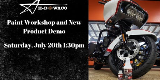 H-D Waco Paint Workshop and New Product Release