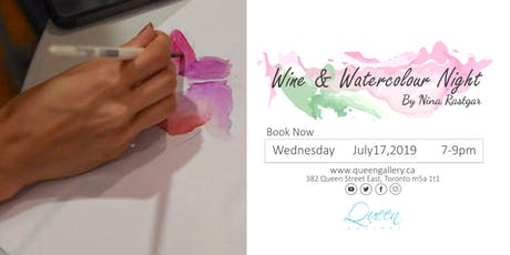 Wine and Watercolour Workshop tickets