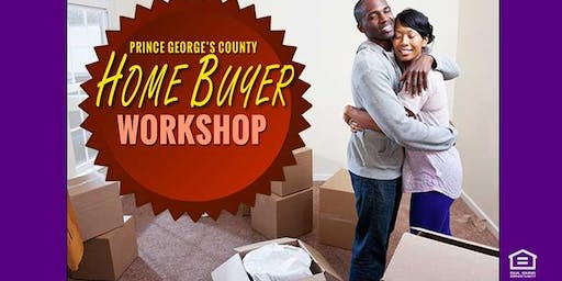 In NE DC: Buying Prince George's County - Homebuyer Workshop - 7/20/2019