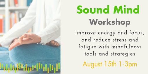 Sound Mind Workshop