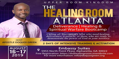 The Healing Room Atlanta tickets