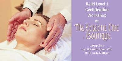 Reiki Level 1 Certification Workshop