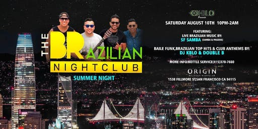 SUMMER NIGHT @THE BRAZILIAN NIGHTCLUB
