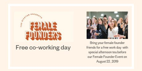 Female Founder's Free Co-working Day tickets