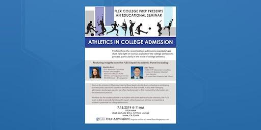 FLEX Irvine: Seminar: Athletics in College Admission