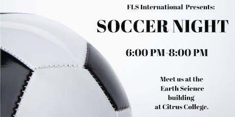 FLS INTERNATIONAL PRESENTS: SOCCER NIGHT! tickets