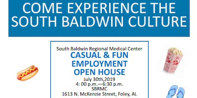Casual and Fun Employment Open House