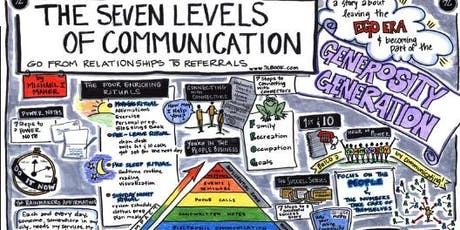 3rd Referral Mastermind Series - 7 Levels of Communication Book Club tickets