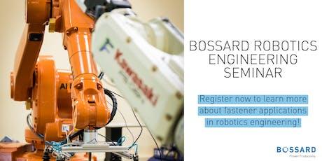 Robotics Engineering Seminar tickets