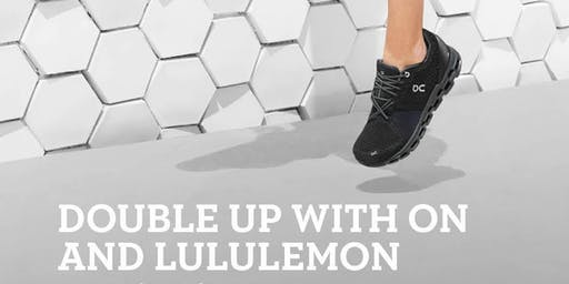 Double up with On and lululemon