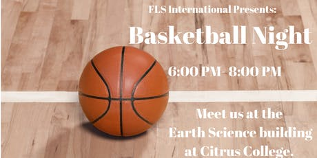 FLS INTERNATIONAL PRESENTS: BASKETBALL NIGHT! tickets