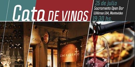 Cata de vinos exclusiva para socios tickets