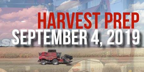 Harvest Prep tickets