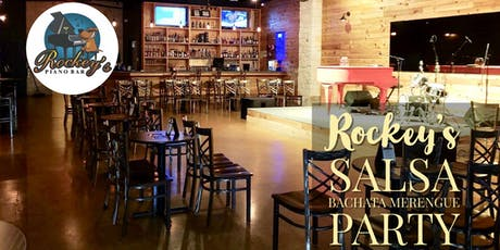 Free Salsa & Bachata Sunday Tropical Social @ Rockey's Piano Bar tickets