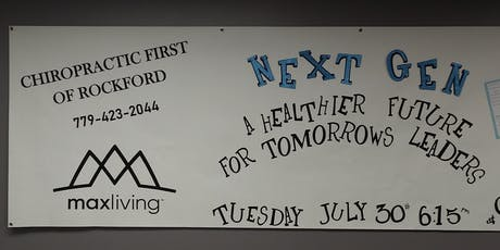 Next Gen-A Healthier Future for Tomorrow's Leaders tickets