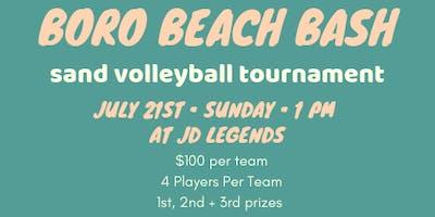 Boro Beach Bash Quad Sand Volleyball Tournament
